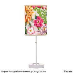 Elegant Vintage Flower Pattern