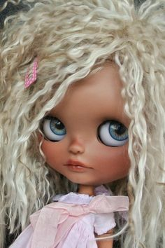 Niobe my last Blythe customized by me, hope you like her!!