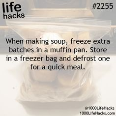 freezing liquids/soups