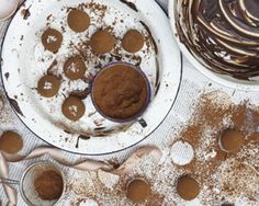 Salted caramel truffles recipe from Edd Kimber's Say it with Cake