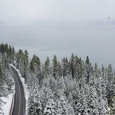 Look beyond the facade. Tahoe City, Lake Tahoe, Facade, Road Trip, Hiking, California, Snow, Mountains, Photography