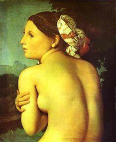 Jean-Auguste Dominique Ingres, 'Half-figure of a Bather',1807