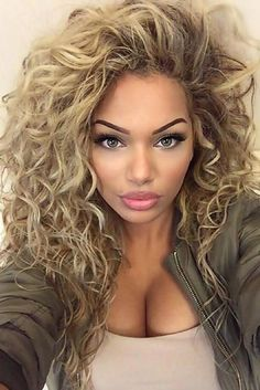 81 Stunning Curly Hairstyles for 2018-Short,Medium & long Curly Hiarstyles