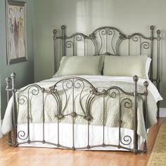 wesley allen iron beds interlude at d noblin artistic yet challenging combination of flowing scrolls and curves constantly tempt you to