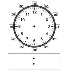 نموذج مفرغ للتدريب على الوقت #كفايات #رياضيات #الصف_الأول #وسائل_تعليمية #التعلم_باللعب #المنهج_الوطني_الجديد