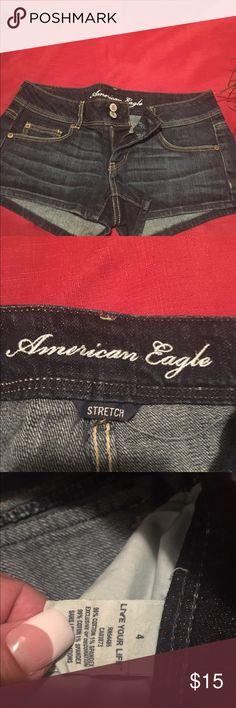 American Eagle jean shorts, size 4 American Eagle jean shorts, size 4 American Eagle Outfitters Shorts Jean Shorts