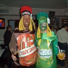 Disfraz de cervezas cruzcampo
