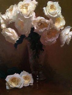 "Dennis Perrin   ""An Abundance of Patience"" oil on canvas. 24"" X 18"""