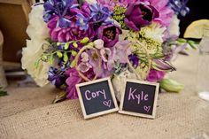 Cory & Kyle head table