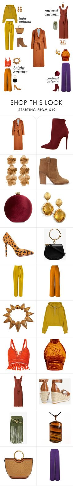 """autumn"" by marina-butova on Polyvore featuring мода, Mes Demoiselles..., Oscar de la Renta, Laurence Dacade, Serpui, Charlotte Olympia, Chloé, Topshop, Andrea Marques и Louis Vuitton"