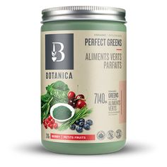 Perfect Protein Elevated Brain Booster   Herbs, Protein   Botanica Organic Chocolate, Chocolate Flavors, Barley Grass, Organic Blueberries, Milk Alternatives, Organic Green Tea, Wheat Grass, Fruits And Veggies, Vegetables