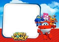 Convite Super Wings