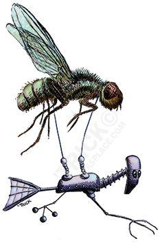 Fly Flier. Artwork by 'Trick. TricksPlace.com