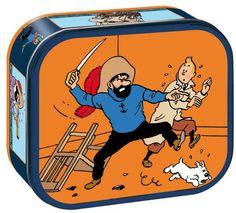 Tea Time with Tintin and Delacre in 2011. Each time a theme is selected: For 2011, The Secret of the Unicorn was honored. Le thème de Tintin et Le Secret de la Licorne était mis à l'honneur.   © Hergé / Moulinsart 2011  © Delacre 2011