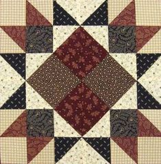 Union Square Quilt Block