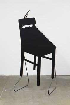 Peter Coffin - Sculpture Silhouette Prop (J. Beuys 'Fat Chair' 1963)