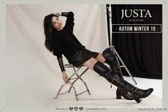 Justa Osadia – Botas y zapatos Invierno 2015