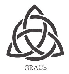 """Custom Celtic Grace Home & Garden Stone made from genuine 1"""" thick granite. Granite and paint are available in a variety of colors. Please contact us for more details. As seen here $35.00"""