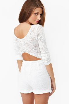 Rose Lace Romper  http://www.nastygal.com/clothes/rose-lace-romper @imtaiasmom