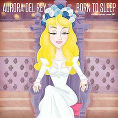 Ilustrações misturam imagens de princesas com cantoras pop | Estilo