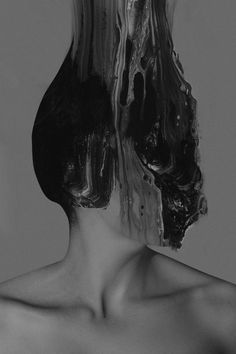 paintings and mixed media by januz miralles, dark, beautiful, creppy, portrait Mixed Media Photography, Creative Photography, Portrait Photography, Distortion Photography, Ernesto Artillo, Arte Obscura, Glitch Art, Art Plastique, Oeuvre D'art