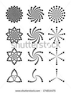 Rock Painting Patterns, Dot Art Painting, Rock Painting Designs, Mandala Painting, Mandala Painted Rocks, Mandala Rocks, Mandala Pattern, Mandala Design, Mandala Art Lesson