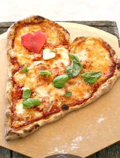 #Valentine's Day #Heart #Pizza #Recipe