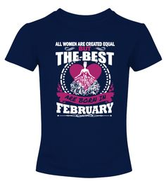 Queens are born in february  Funny september woman T-shirt, Best september woman T-shirt