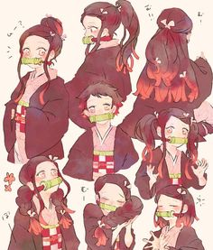 Manga Anime, Fanarts Anime, Anime Demon, Anime Characters, Anime Art, Demon Slayer, Slayer Anime, Yandere Simulator Memes, Funny Anime Pics
