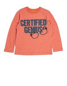'Genius' Slogan T-Shirt