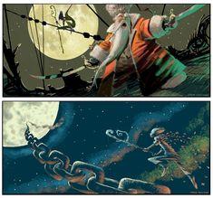 Concept initial de Rise of the Guardians