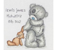 image of Tatty Teddy Birth Sampler Kit FREE UK DELIVERY