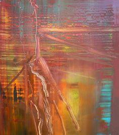 A little art every day. Gerhard Richter Painting, Abstract Expressionism, Abstract Art, Armin, Modern Art, Contemporary Art, Catalogue Raisonne, European Paintings, Art Sketchbook