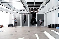 The Queenax Studiosystem, a unique and versatile fitness studio system for gyms, not only convinces with its functionality but also visually