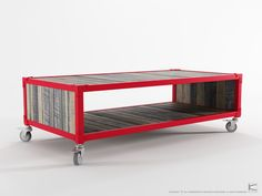 Ak Atelier Coffee Table Red