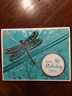 Springtime Foil DSP, Bermuda Bay, Dragonfly Dreams stamp set