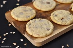 milchmädchen cookies / cookies with evaporated milk Evaporated Milk, Food And Drink, Ice Cream, Sweets, Dinner, Desserts, Recipes, Macarons, Pasta
