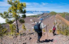 La tercera etapa de dicho sendero, más comúnmente conocida como Ruta de los Volcanes