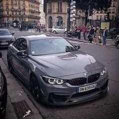 Nardo Grey BMW M4 - @mensfashions Courtesy of @romainlapeyrephotography