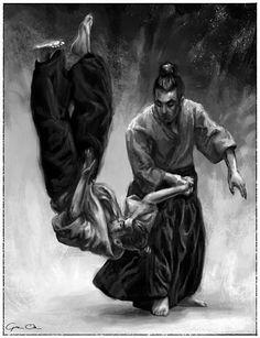 Drawing aikido