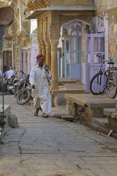 Far too familiar lanes of Rajasthani villages