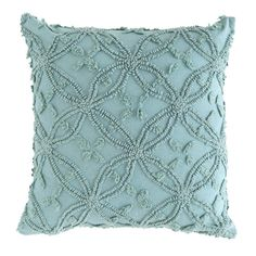 Love the texture on this throw pillow