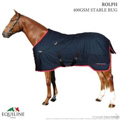 Coperta Box Equiline Rolph My Horse, Horses, Horse Rugs, Stables, Boxing, Italia, Horse Stables, Horse, Horse Barns