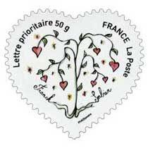 Franck Sorbier Flower Stamp, Postage Stamps, Calendar, Clip Art, Prints, Design, The World, Stamps, Door Bells