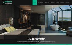 Interior Design Bootstrap Responsive Web Template