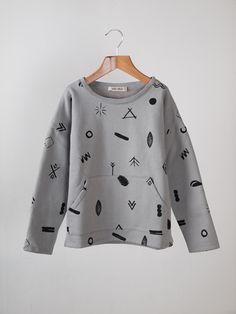 BOBO CHOSES - Symbols Pocket Sweatshirt