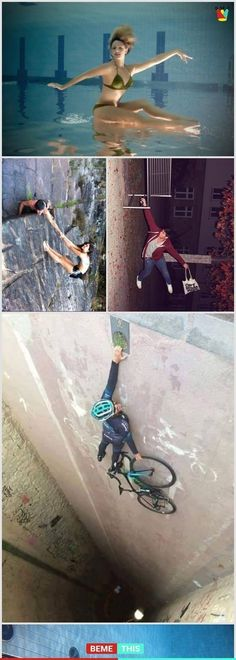 10 Uncanny Angle Photos That Will Mess With Your Brain Funny Animal Pictures, Funny Photos, Funny Animals, Cool Pictures, Cool Photos, Creative Photography, Amazing Photography, Photography Tips, Illusion Photos