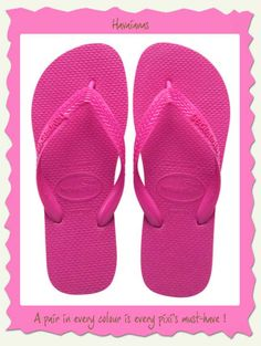 cc6b8f625 Havaianas Top Maravilha Flip Flop These shocking pink havaianas in the top  model are soft blister free straps and a MUST HAVE!
