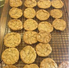 Home baked Almond molasses chewy #cookies ! #zacposen #cookingwithzac