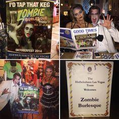Zombie Burlesque Celebrating Oktoberfest At Hofbrauhaus Las Vegas! #oktoberfest #zombieburlesque #zombies #zombie #twd #thewalkingdead #hofbrauhuas